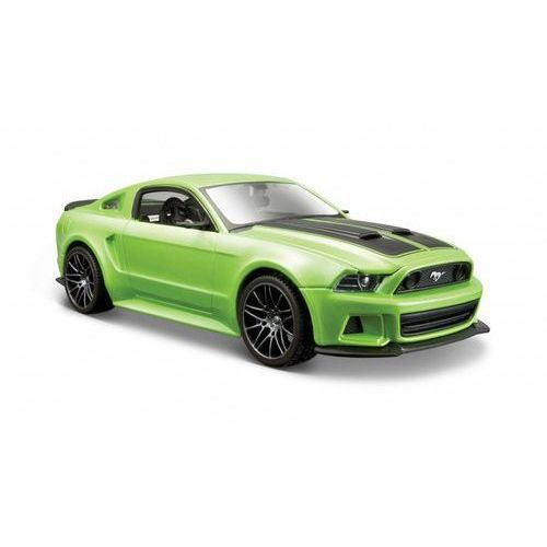 Osobowe dla dzieci, Model kompozytowy ford mustang street racer zielony 1/24