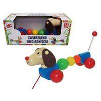 Zabawki z drewna, Drewno Pies do ciągnięcia BRIMAREX (1573117)
