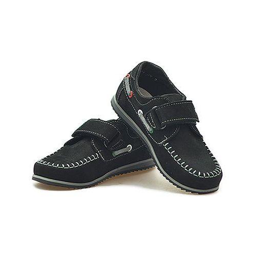 Pozostałe obuwie dziecięce, Mokasynki dziecięce Zarro 2077/M/05 Czarne