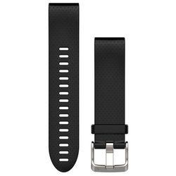 Pasek do zegarka sportowego GARMIN Fenix 5S rozmiar normalny Czarny 010-12491-12