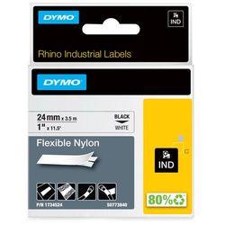 Dymo taśma do drukarek etykiet, S0773840, czarny druk/biały podkład, 3.5m, 24mm