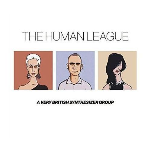 Pozostała muzyka rozrywkowa, ANTTHOLOGY - A VERY BRITISH SYNTHESIZER GROUP (3CD+DVD) LTD. - Human League (CD + DVD)