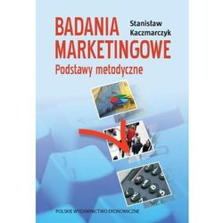 Badania marketingowe. Podstawy metodyczne