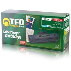 Toner TFO C-718C (CRG718C, Cy) 2.8 do Canon i-SENSYS LBP7200Cdn, i-SENSYS MF8330