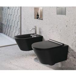 Misa WC oraz bidet LORENA BLACK z serii RIMLESS