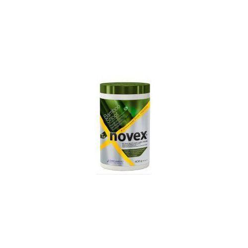 Odżywianie włosów, Novex Bamboo Sprout, maska regenerująca, 400g