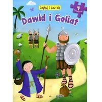 Książki dla dzieci, Czytaj i baw się Dawid i Goliat - 35% rabatu na drugą książkę! (opr. twarda)