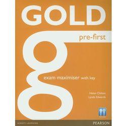 Gold Pre-First Exam Maximiser With Key (opr. miękka)