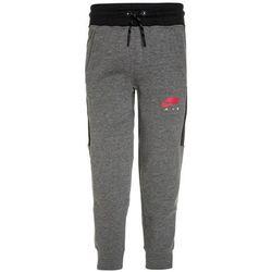 Nike Performance AIR CUFF Spodnie treningowe carbon heather/anthracite/siren red