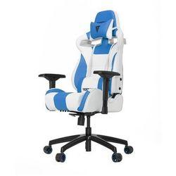 Vertagear S-Line SL4000 Racing Series Krzesło gamingowe - Biało-niebieski - Skóra PU - 150 kg