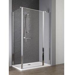 Radaway EOS II KDJ drzwi 120 prawe x ścianka 90 lewa wys. 195 cm szkło przejrzyste 3799424-01R/3799431-01L