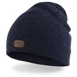 Wiosenna czapka chłopięca PaMaMi - Granatowa mulina - Granatowa mulina
