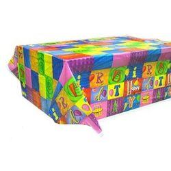 Obrus foliowy Happy Birthday I - 140x180 cm