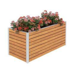 Drewniana skrzynka ogrodowa Zeris - 24 kolory