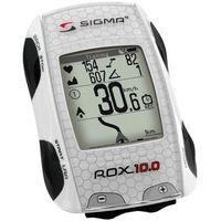 Liczniki rowerowe, Licznik ROX 10.0 GPS set biały