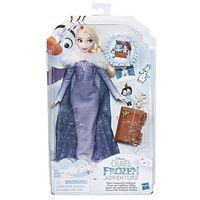 Lalki dla dzieci, Lalka Elsa Kraina lodu Przygoda Olafa Kufer c3383 Hasbro