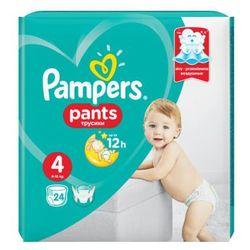 Pampers, Active Baby Pants. Pieluchomajtki, rozmiar 4 Maxi, 24 sztuki - Pampers
