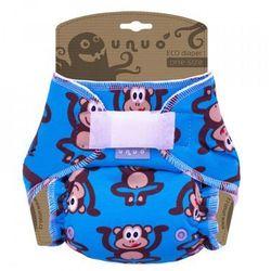 Unuo pieluszka wielorazowa Super Size, Małpa - niebieski - BEZPŁATNY ODBIÓR: WROCŁAW!