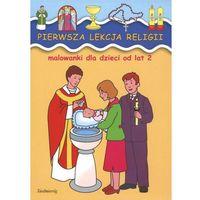 Książki dla dzieci, Pierwsza lekcja religii (opr. miękka)