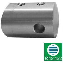 Uchwyt naciągu linki AISI304, D42,4x2/D22/d3mm