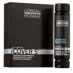 Loreal Homme Cover 5` Żel do koloryzacji 3x50ml NO5