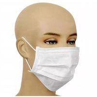 Maseczki i przyłbice ochronne, Maska ochronna wielorazowa - trójwarstwowa z certyfikatem