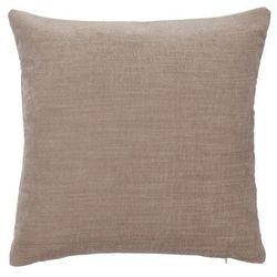Poduszka GoodHome Pahea 45 x 45 cm brązowa