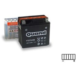 Akumulator motocyklowy QUAND YTZ7S-BS 12V 5,5Ah 130A P+
