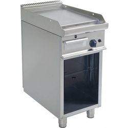 Płyta grillowa gazowa gładka wolnostojąca | 395x530mm | 6000W