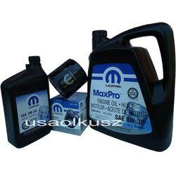 Oryginalny MOPAR filtr oraz mineralny olej 5W30 Jeep Commander 4,7 V8 2008-
