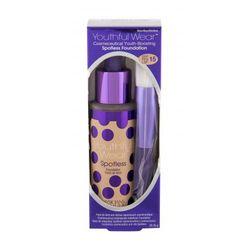 Physicians Formula Youthful Wear Spotless SPF15 zestaw Make-up 28,35 g + Pędzel kosmetyczny 1 szt dla kobiet Medium
