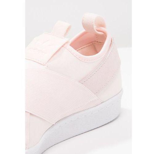 adidas Originals SUPERSTAR Półbuty wsuwane halo pinkwhite