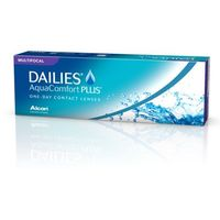 Soczewki kontaktowe, Dailies Aqua Comfort Plus - 10 sztuk