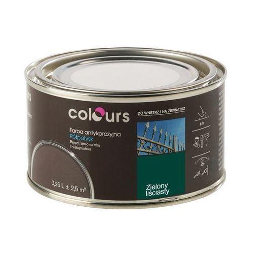 Farby, Farba antykorozyjna Colours zielona liściasta 0,25 l
