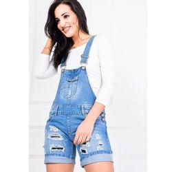 Ogrodniczki szorty jeans