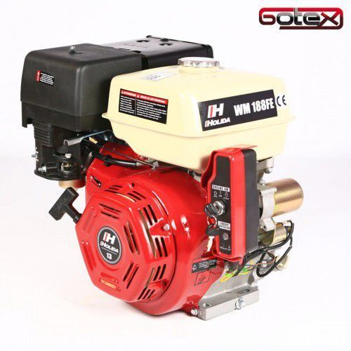 Pozostałe akcesoria do narzędzi, Silnik spalinowy Holida 188F E GX390 13KM wał 25mm elektryczny zapłon