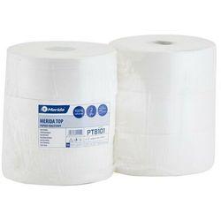 Papier toaletowy Merida Top, 2 warstwy, celuloza - 6 rolek