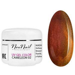 Neonail 3632 Cameleon UV Gel Red/Gold 5ml - 3632