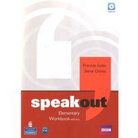 Książki do nauki języka, Speakout Elementary, Workbook (zeszyt ćwiczeń) with Answer Key plus Audio CD (opr. miękka)