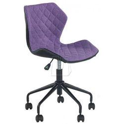 Fotel młodzieżowy Halmar Matrix fioletowy - gwarancja bezpiecznych zakupów - WYSYŁKA 24H