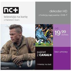 Dekoder NC+ ITI 2850 z usługą telewizja na kartę (130 kanałów,1 m-c na start z Canal +)