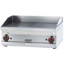 Płyta grillowa gazowa gładka | 795x450mm | 12000W | 800x600x(H)280mm