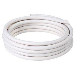 Kabel zasilający H03VVF 3 x 0,75 mm2 25 m biały