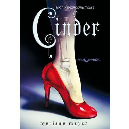 Literatura młodzieżowa, CINDER SAGA KSIĘŻYCOWA TOM 1 - Marissa Meyer DARMOWA DOSTAWA KIOSK RUCHU (opr. twarda)
