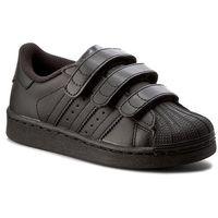 Buty sportowe dla dzieci, Buty adidas - Superstar Foundation Cf C B25728 Cblack/Cblack/Cblack