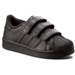 Buty adidas - Superstar Foundation Cf C B25728 Cblack/Cblack/Cblack