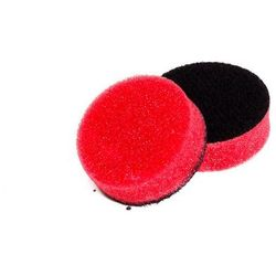 NAT średnio miękka gąbka polerska czerwona 33mm