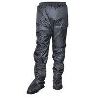 Spodnie motocyklowe męskie, SPODNIE PRZECIWDESZCZOWE OZONE MARIN BLACK