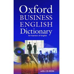 Oxford Business English Dictionary for Learners of English + CD (opr. miękka)