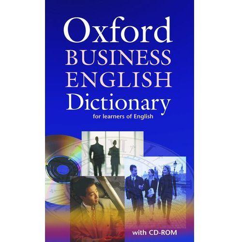 Książki do nauki języka, Oxford Business English Dictionary for Learners of English + CD (opr. miękka)
